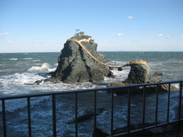 伊勢の夫婦岩